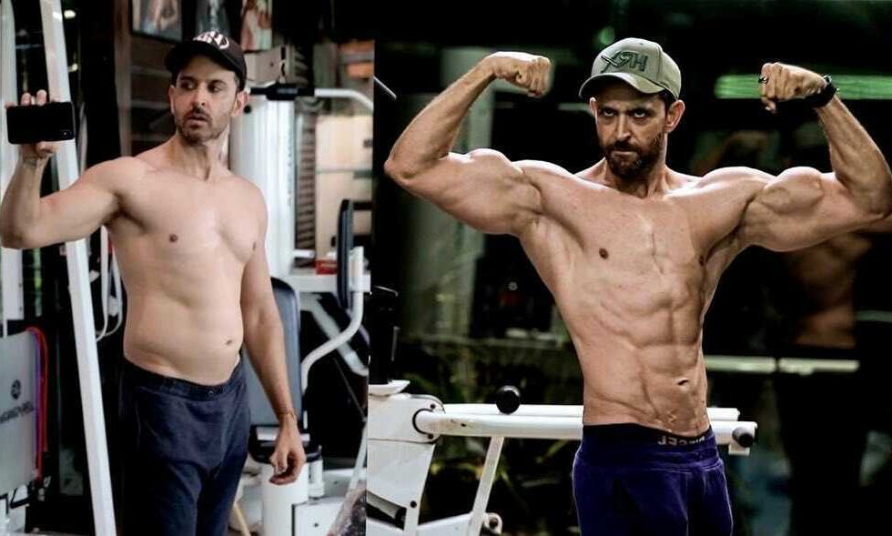 Hrithik Roshan's Transformation