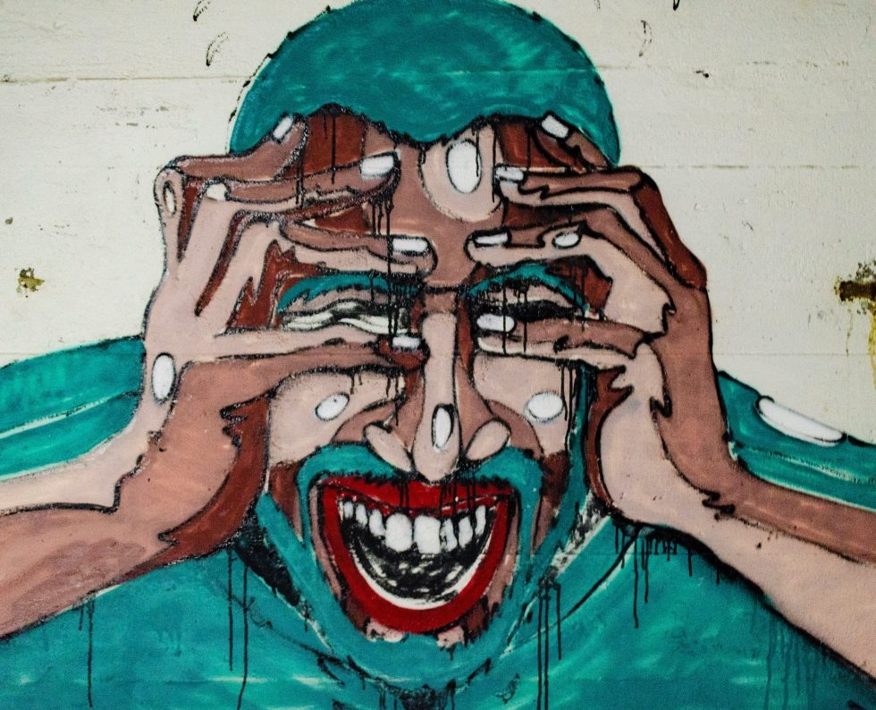 a man with an anxiety disorder